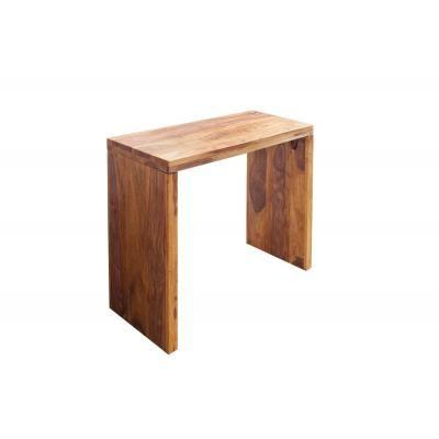 Ébenfa íróasztal, 100 cm - SOLITAIRE
